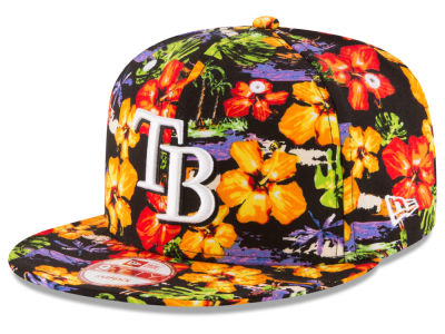 Tampa Bay Rays New Era MLB Spring Time 9FIFTY Snapback Cap