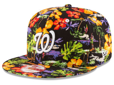 Washington Nationals New Era MLB Spring Time 9FIFTY Snapback Cap