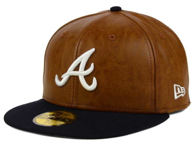 Atlanta Braves New Era MLB So Leather 2-Tone 59FIFTY Cap