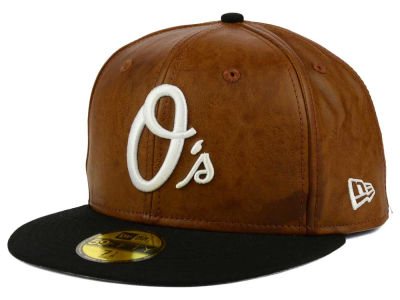 Baltimore Orioles New Era MLB So Leather 2-Tone 59FIFTY Cap