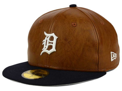 Detroit Tigers New Era MLB So Leather 2-Tone 59FIFTY Cap