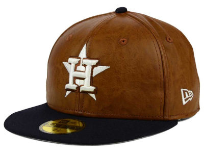 Houston Astros New Era MLB So Leather 2-Tone 59FIFTY Cap