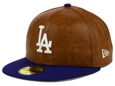 Los Angeles Dodgers New Era MLB So Leather 2-Tone 59FIFTY Cap