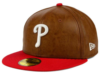 Philadelphia Phillies New Era MLB So Leather 2-Tone 59FIFTY Cap