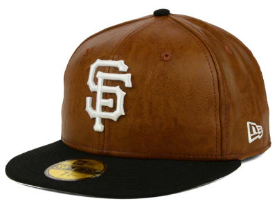 San Francisco Giants New Era MLB So Leather 2-Tone 59FIFTY Cap