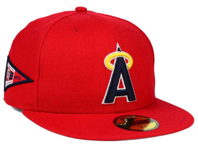 Los Angeles Angels New Era MLB Banner Patch 59FIFTY Cap