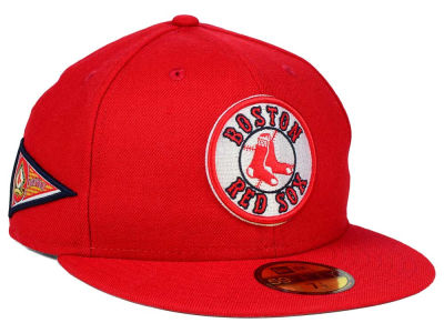 Boston Red Sox New Era MLB Banner Patch 59FIFTY Cap