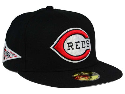 Cincinnati Reds New Era MLB Banner Patch 59FIFTY Cap