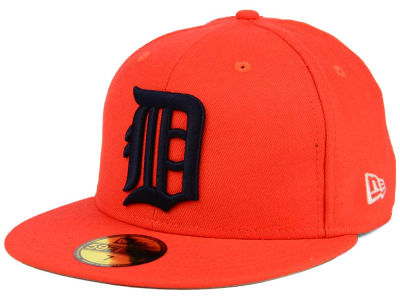 Detroit Tigers New Era MLB Banner Patch 59FIFTY Cap