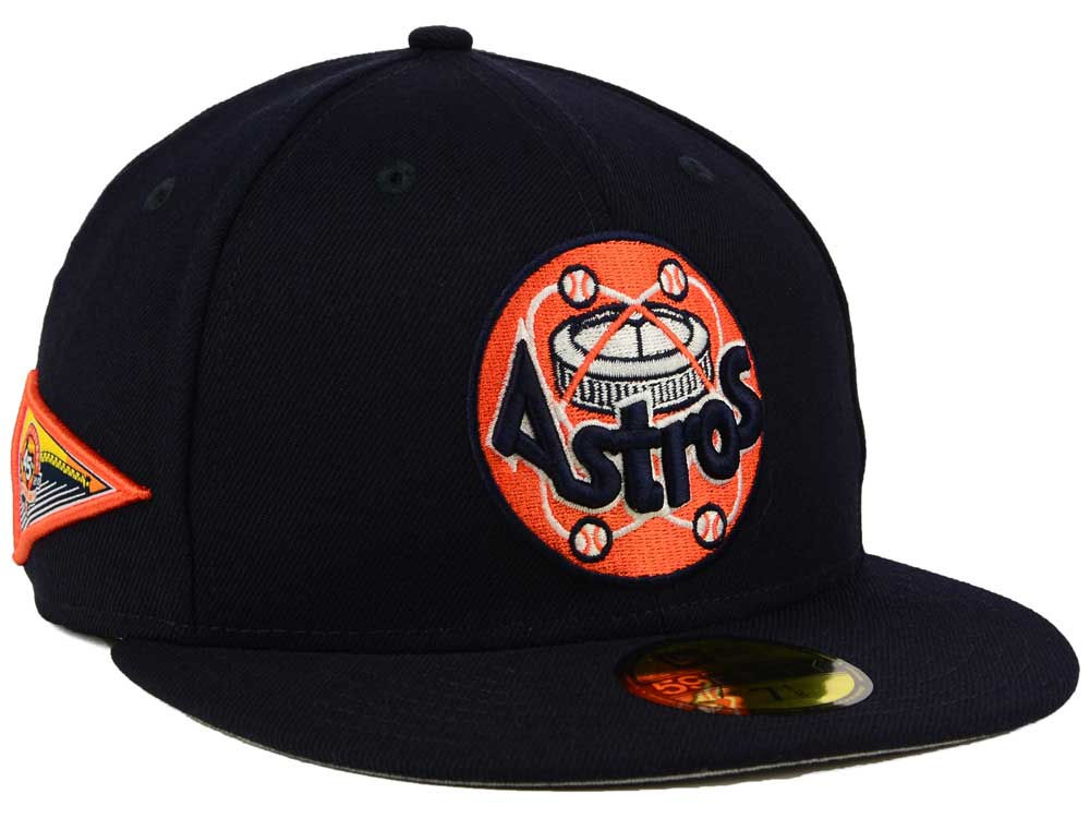 online store a4d1b 97347 Houston Astros New Era MLB Banner Patch 59FIFTY Cap   lids.com