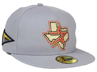 Houston Astros New Era MLB Banner Patch 59FIFTY Cap