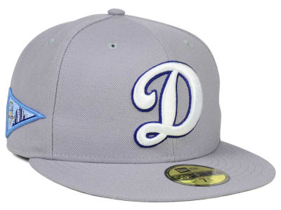 Los Angeles Dodgers New Era MLB Banner Patch 59FIFTY Cap