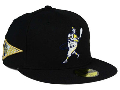 Milwaukee Brewers New Era MLB Banner Patch 59FIFTY Cap