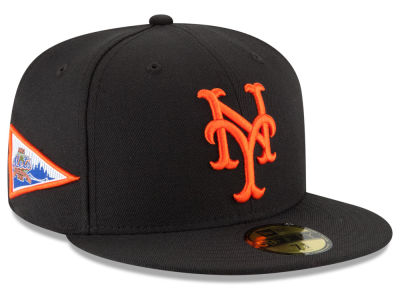 New York Mets New Era MLB Banner Patch 59FIFTY Cap