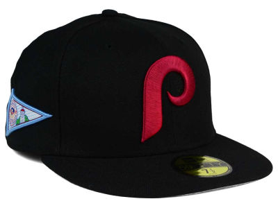 Philadelphia Phillies New Era MLB Banner Patch 59FIFTY Cap