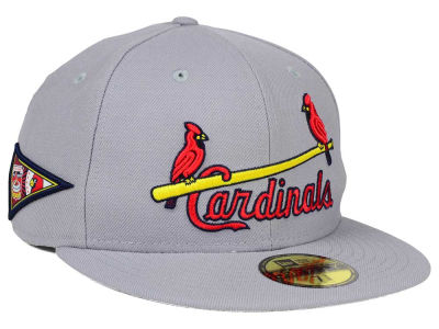 St. Louis Cardinals New Era MLB Banner Patch 59FIFTY Cap