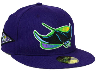 Tampa Bay Rays New Era MLB Banner Patch 59FIFTY Cap