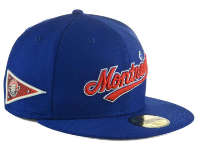 Montreal Expos New Era MLB Banner Patch 59FIFTY Cap