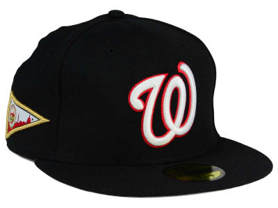 Washington Nationals New Era MLB Banner Patch 59FIFTY Cap