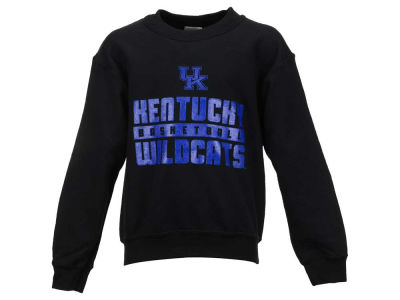 Kentucky Wildcats NCAA Youth Bar Crew Sweatshirt
