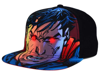 Superman DC Comics Youth Red Eye Snapback Hat