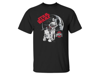 Ohio State Buckeyes J America NCAA Men's Star Wars Droid Death Star T-Shirt