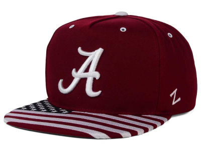 Alabama Crimson Tide Zephyr NCAA Anthem Snapback Cap