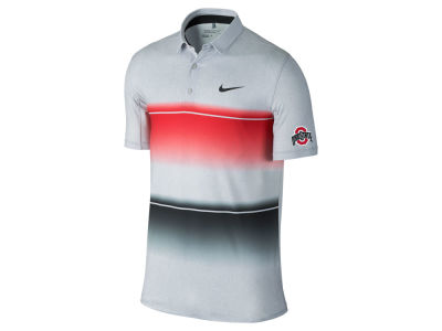 Nike NCAA Men's Mobility Stripe Polo Shirt
