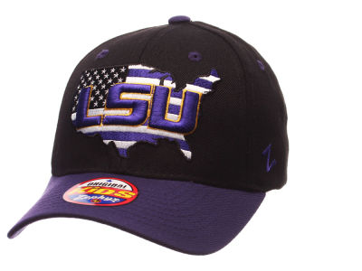 LSU Tigers Zephyr NCAA Kids United Adjustable Cap