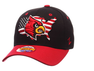 Louisville Cardinals Zephyr NCAA Kids United Adjustable Cap