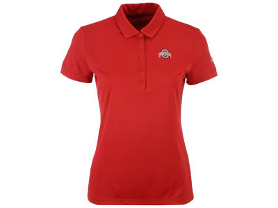 Ohio State Buckeyes Nike Golf NCAA Women's Victory Solid Polo Shirt