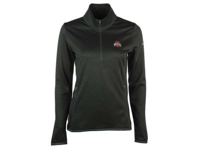 Ohio State Buckeyes Nike Golf NCAA Women's Thermal Long Sleeve Half Zip Top