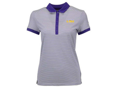 LSU Tigers Nike Golf NCAA Women's Victory Stripe Polo