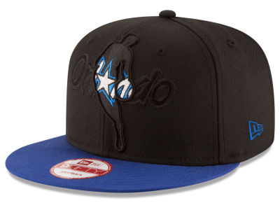 Orlando Magic New Era NBA HWC Logoman Blackout 9FIFTY Snapback Cap