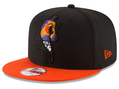 Phoenix Suns New Era NBA HWC Logoman Blackout 9FIFTY Snapback Cap