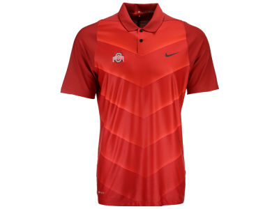 Ohio State Buckeyes Nike Golf NCAA Men's Max Hypercool Fade Polo Shirt