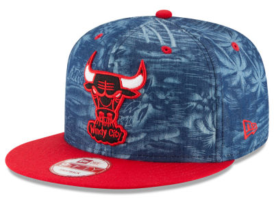 Chicago Bulls New Era NBA HWC D-TROP 9FIFTY Snapback Cap