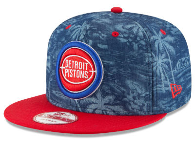 Detroit Pistons New Era NBA HWC D-TROP 9FIFTY Snapback Cap