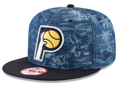 Indiana Pacers New Era NBA HWC D-TROP 9FIFTY Snapback Cap