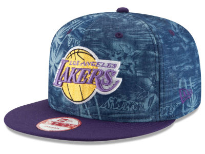 Los Angeles Lakers New Era NBA HWC D-TROP 9FIFTY Snapback Cap