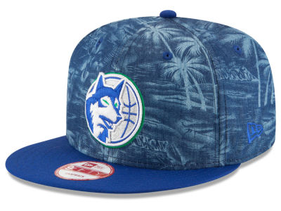 Minnesota Timberwolves New Era NBA HWC D-TROP 9FIFTY Snapback Cap