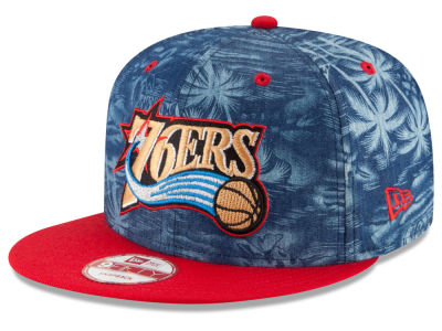Philadelphia 76ers New Era NBA HWC D-TROP 9FIFTY Snapback Cap