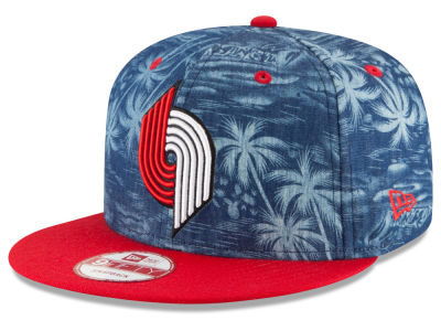 Portland Trail Blazers New Era NBA HWC D-TROP 9FIFTY Snapback Cap