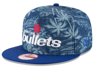 Washington Bullets New Era NBA HWC D-TROP 9FIFTY Snapback Cap