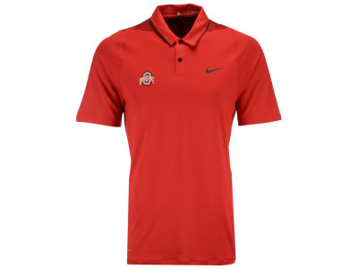 Ohio State Buckeyes Nike Golf NCAA Men's VL Glow Framing Polo Shirt