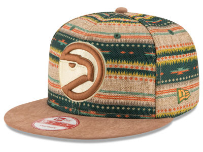 Atlanta Hawks New Era NBA HWC The Natural Print 9FIFTY Snapback Cap