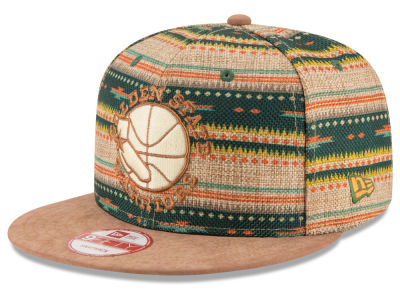 Golden State Warriors New Era NBA HWC The Natural Print 9FIFTY Snapback Cap