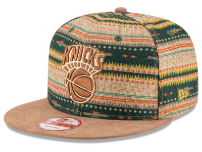 New York Knicks New Era NBA HWC The Natural Print 9FIFTY Snapback Cap