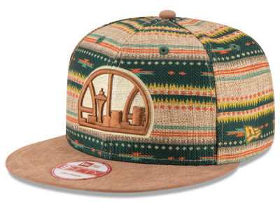 Seattle SuperSonics New Era NBA HWC The Natural Print 9FIFTY Snapback Cap