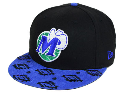 Dallas Mavericks New Era NBA HWC Sueded Print 9FIFTY Snapback Cap